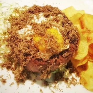 Hamburger di fassona con tartufo